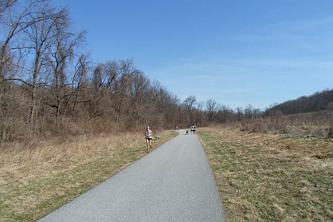 East Branch Brandywine Trail East Branch Brandywine Trail More people enjoying a spring day on the trail.