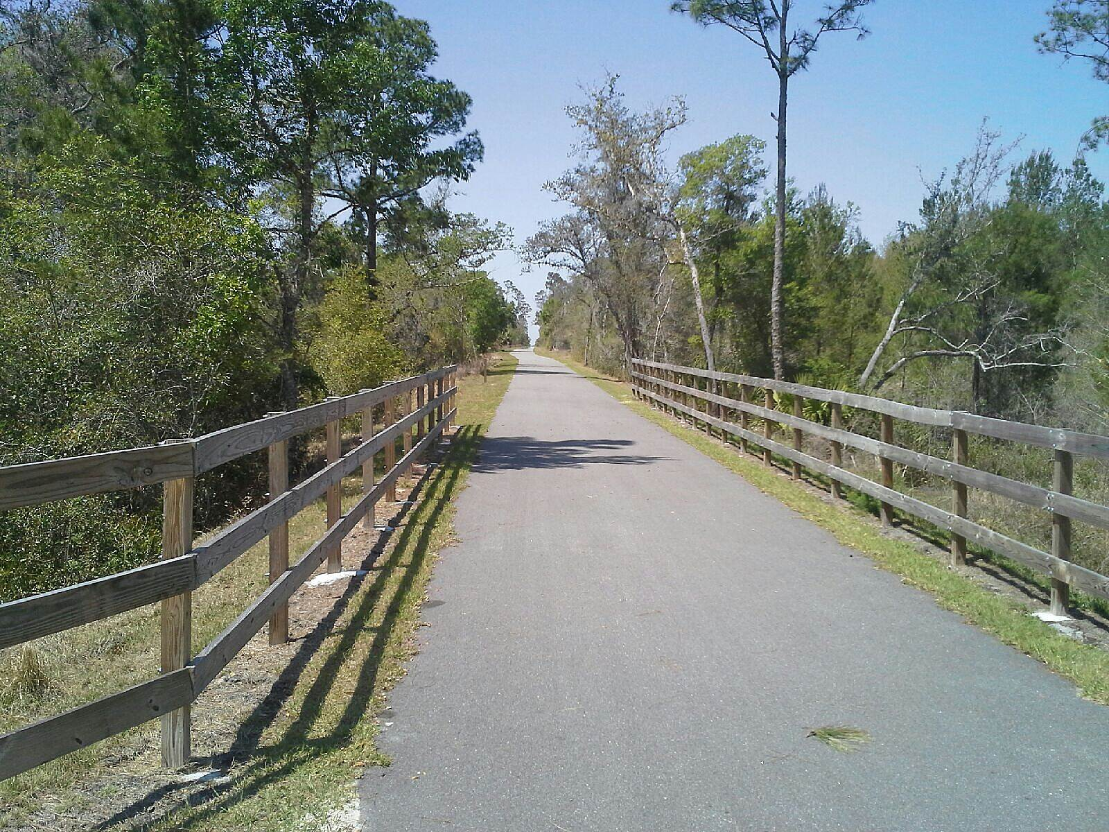 East Central Regional Rail Trail Heaven The whole trial is like about five miles of heaven.