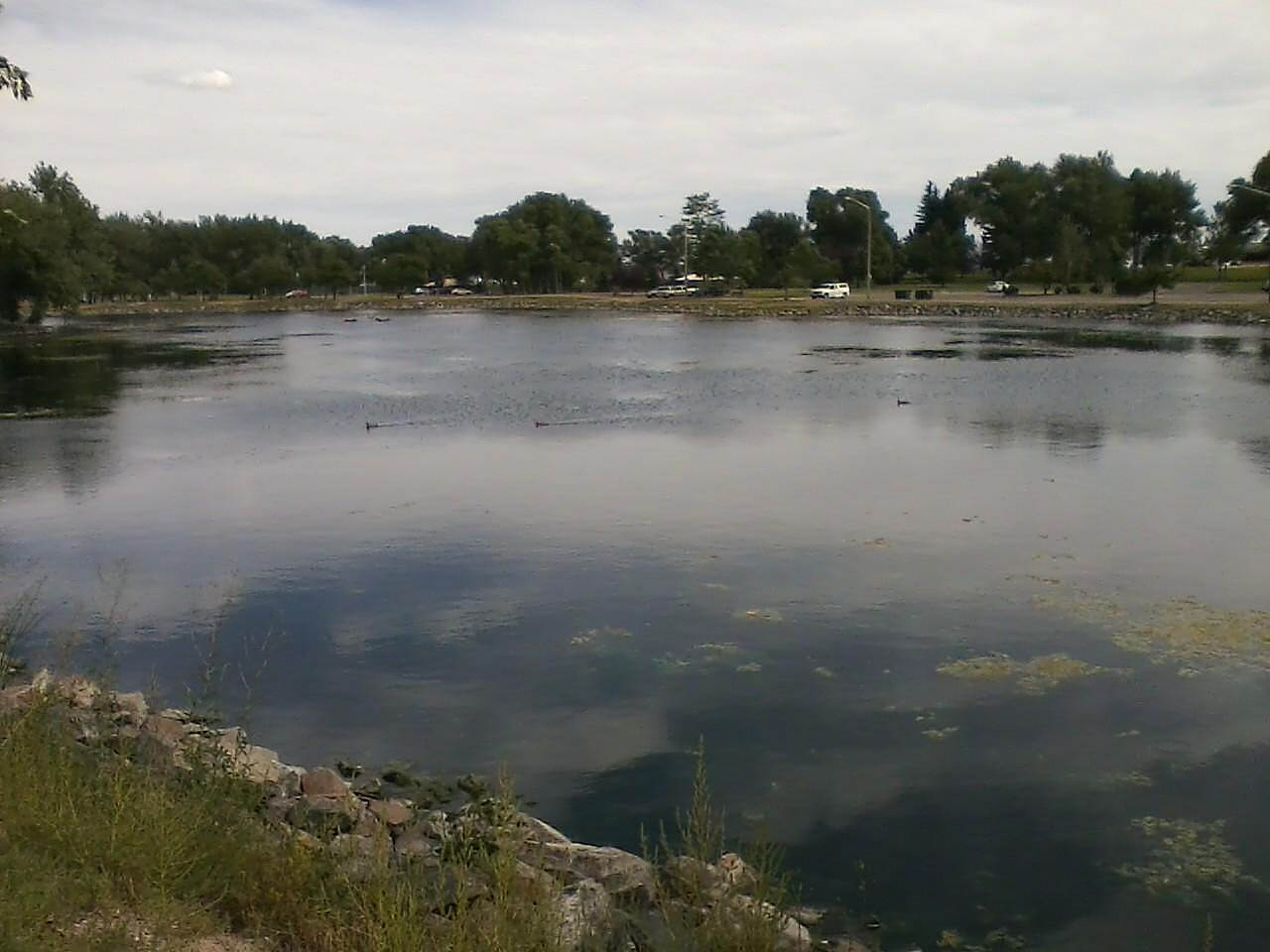 East Cheyenne Greenway Lake at Holliday Park