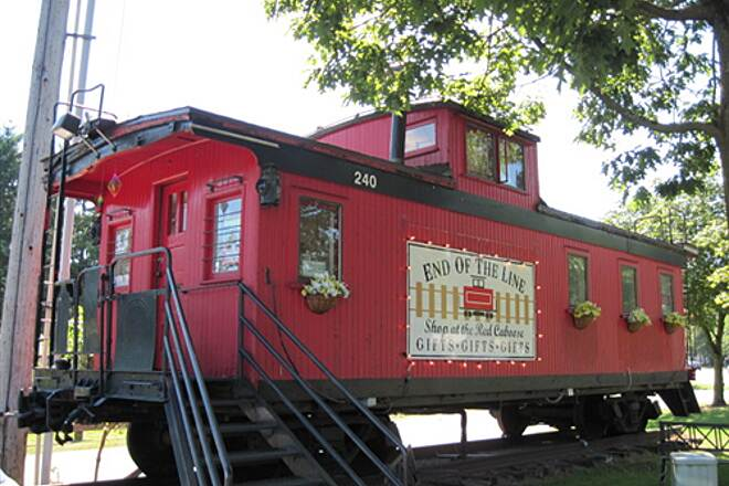 East Lake Sammamish Trail EAST LAKE SAMMAMISH TRAIL The caboose at the Issaquah end of the trail.