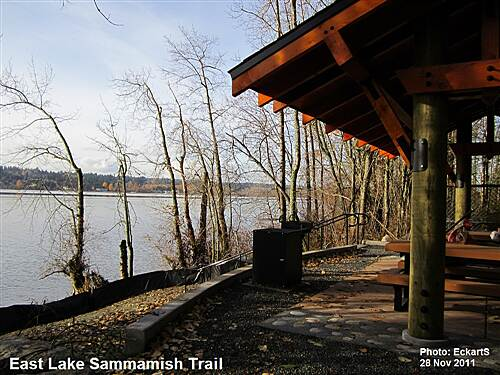 East Lake Sammamish Trail East Lake Sammamish Trail South Picnic Shelter