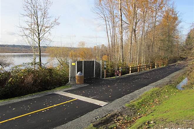 East Lake Sammamish Trail East Lake Sammamish Trail Newly paved section at north end of trail