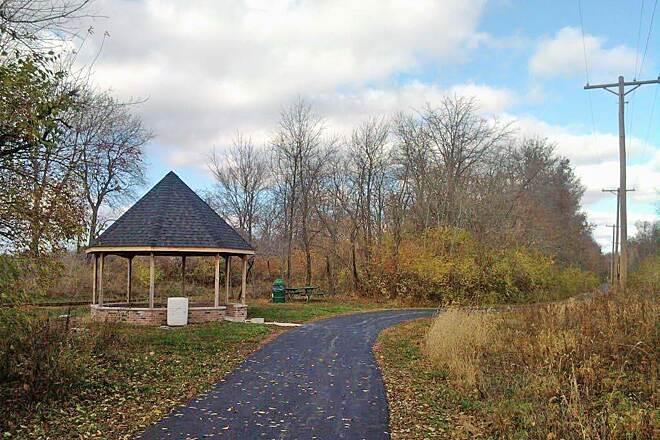East Prairie Bicycle & Walking Path Memorial Gazebo
