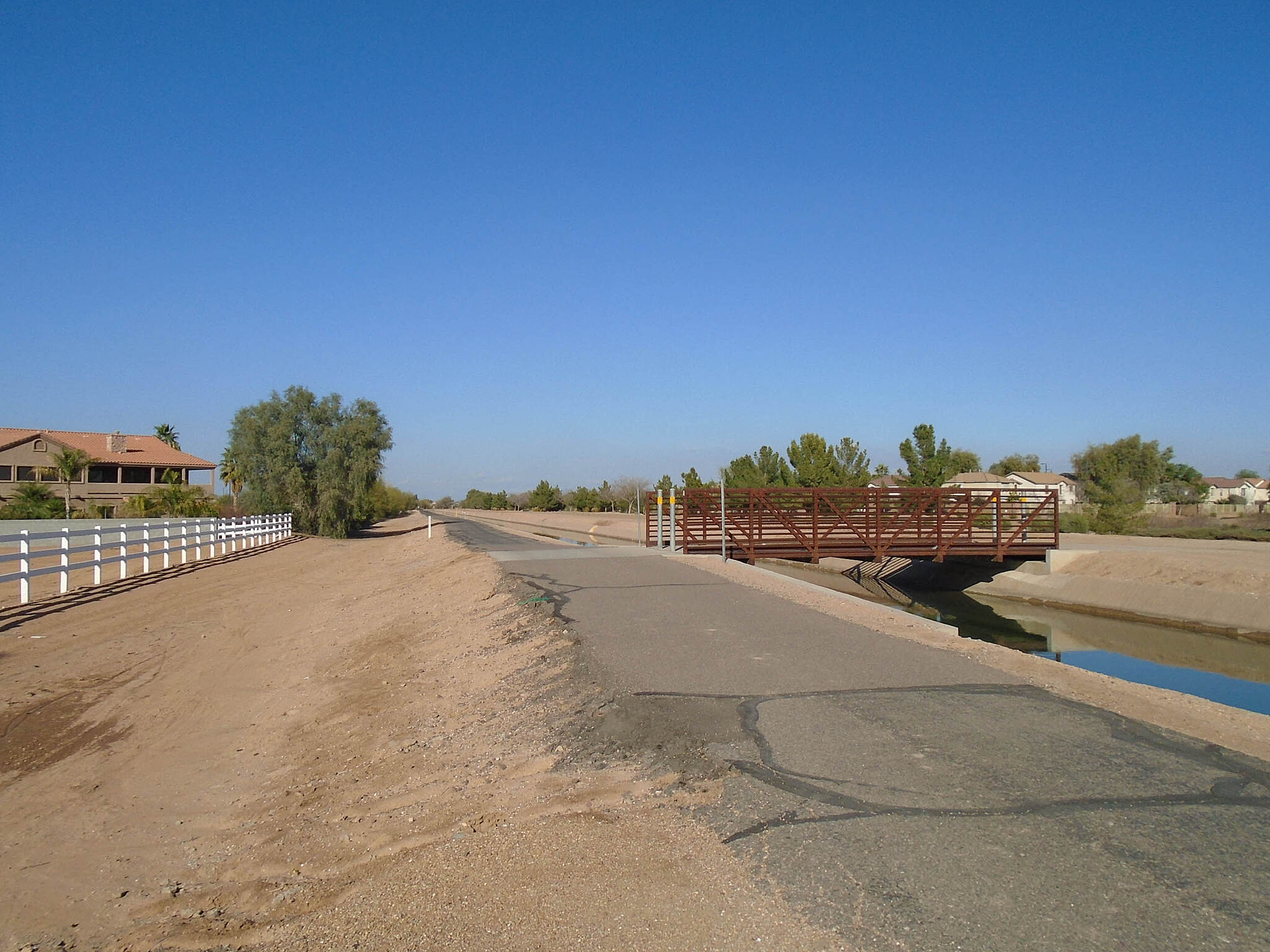 Eastern Canal Path eastern canal path eastern canal path just N of Pecos Rd