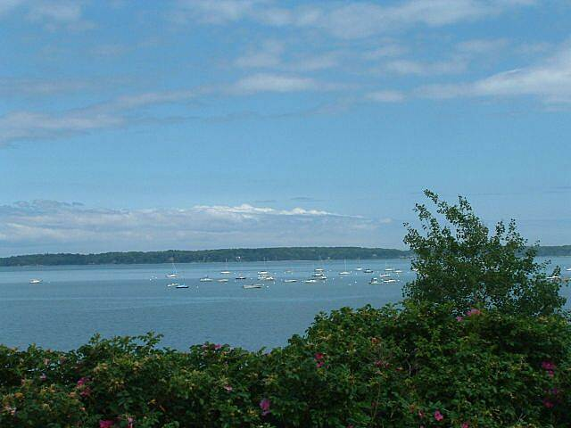 Eastern Promenade Trail  Casco Bay from Eastern Promenade Trail