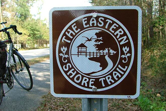 Eastern Shore Trail Teardrop travels Trail signage