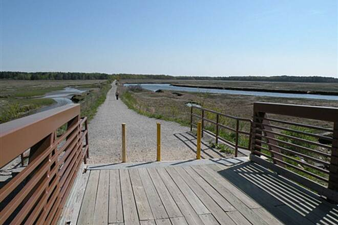 Eastern Trail Walk and Bike the Marsh New and inviting trail