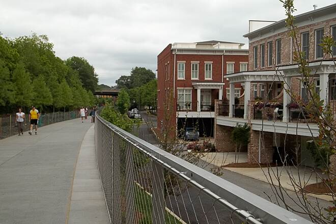 Eastside Trail Atlanta Beltline In Georgia Traillink