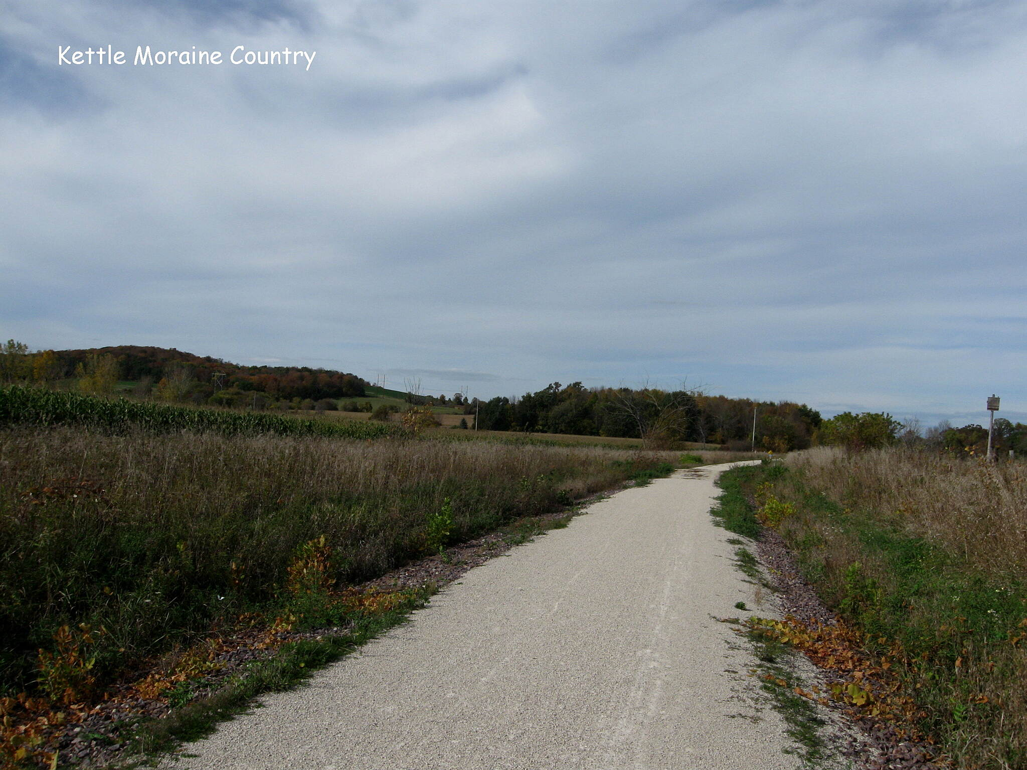 Eisenbahn State Trail Kettle Moraine Country
