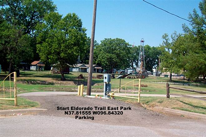 El Dorado Bike Trail El Dorado Bike Trail Trail Head in East Park, Parking