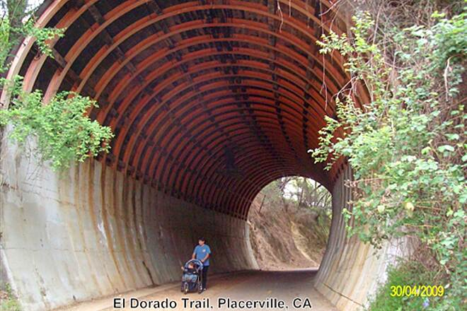 El Dorado Trail El Dorado Trail Unusal constructed Tunnel