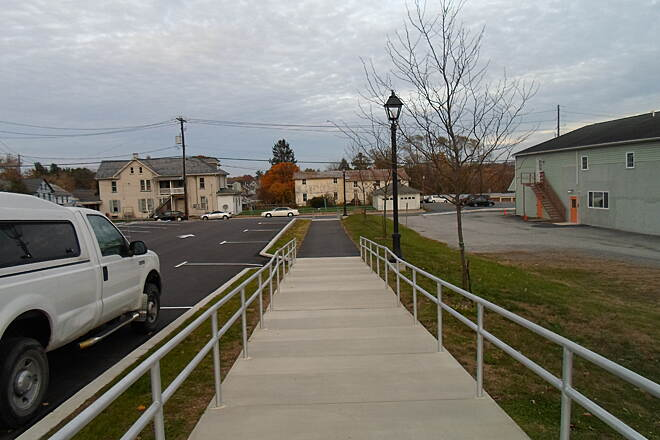 Elizabethtown Connector Trail Elizabethtown Connector Trail Approaching Brown Street on the borough's west end.