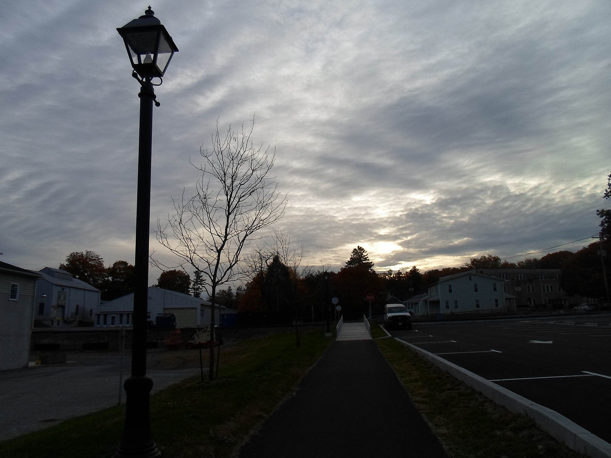 Elizabethtown Connector Trail Elizabethtown Connector Trail Looking west down the trail from the Brown Street crossing. Taken near dusk in Oct. 2015.