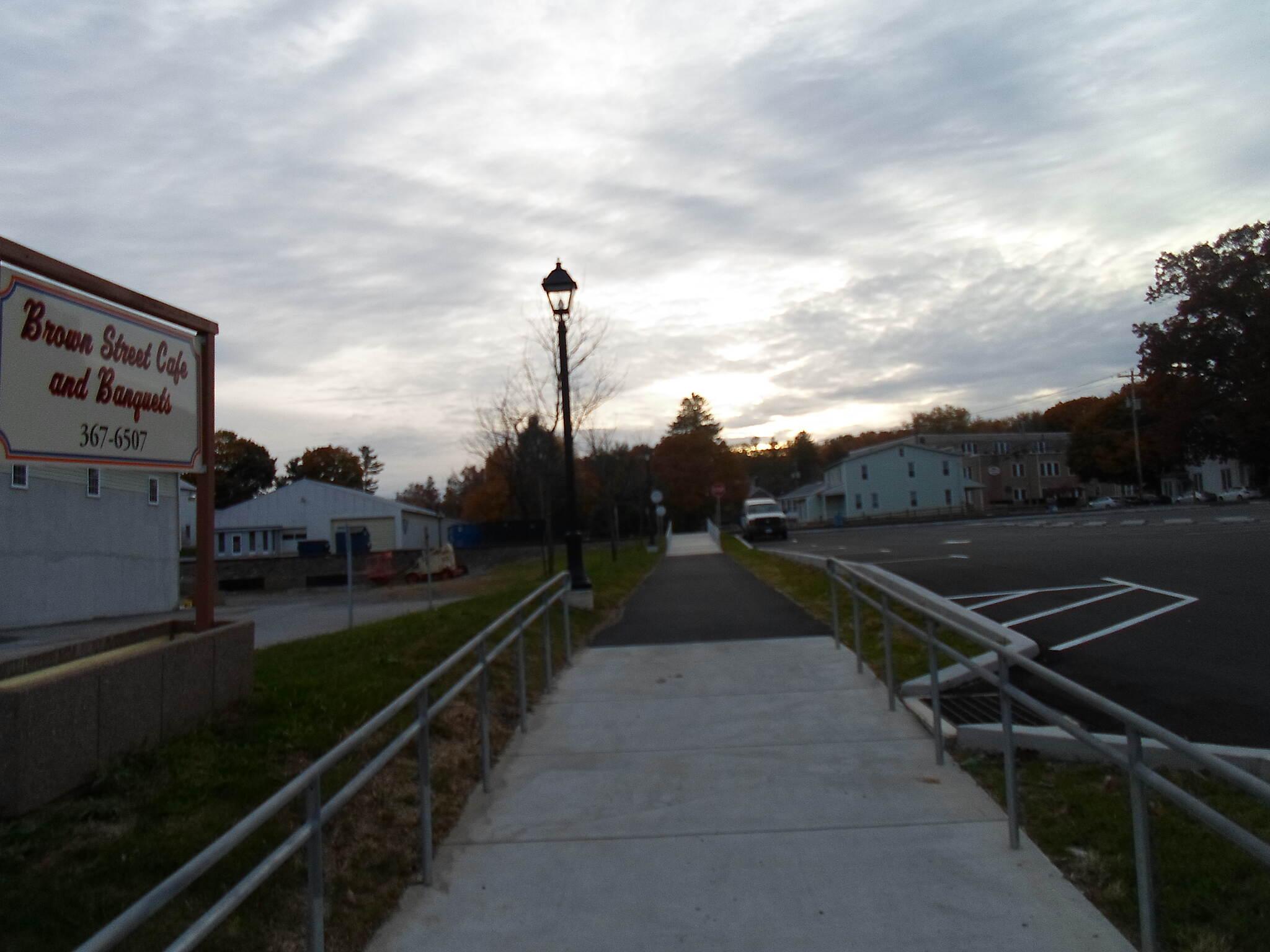 Elizabethtown Connector Trail Elizabethtown Connector Trail Passing a business that will likely benefit from its proximity to the trail in coming years. Taken Oct. 2015.