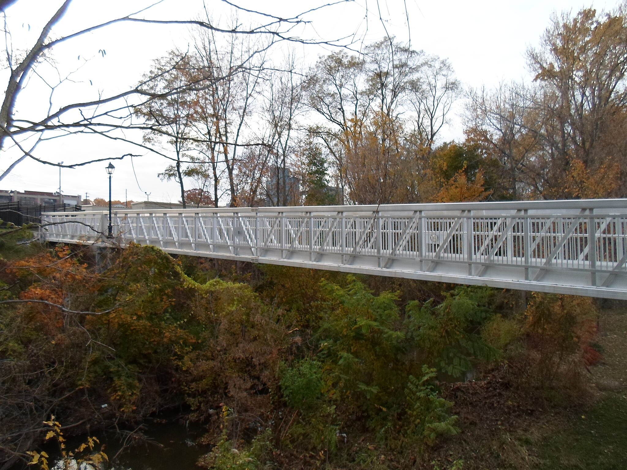 Elizabethtown Connector Trail Elizabethtown Connector Trail South side of the trail bridge over Conoy Creek, as seen from the descending ramp. Taken Oct. 2015.