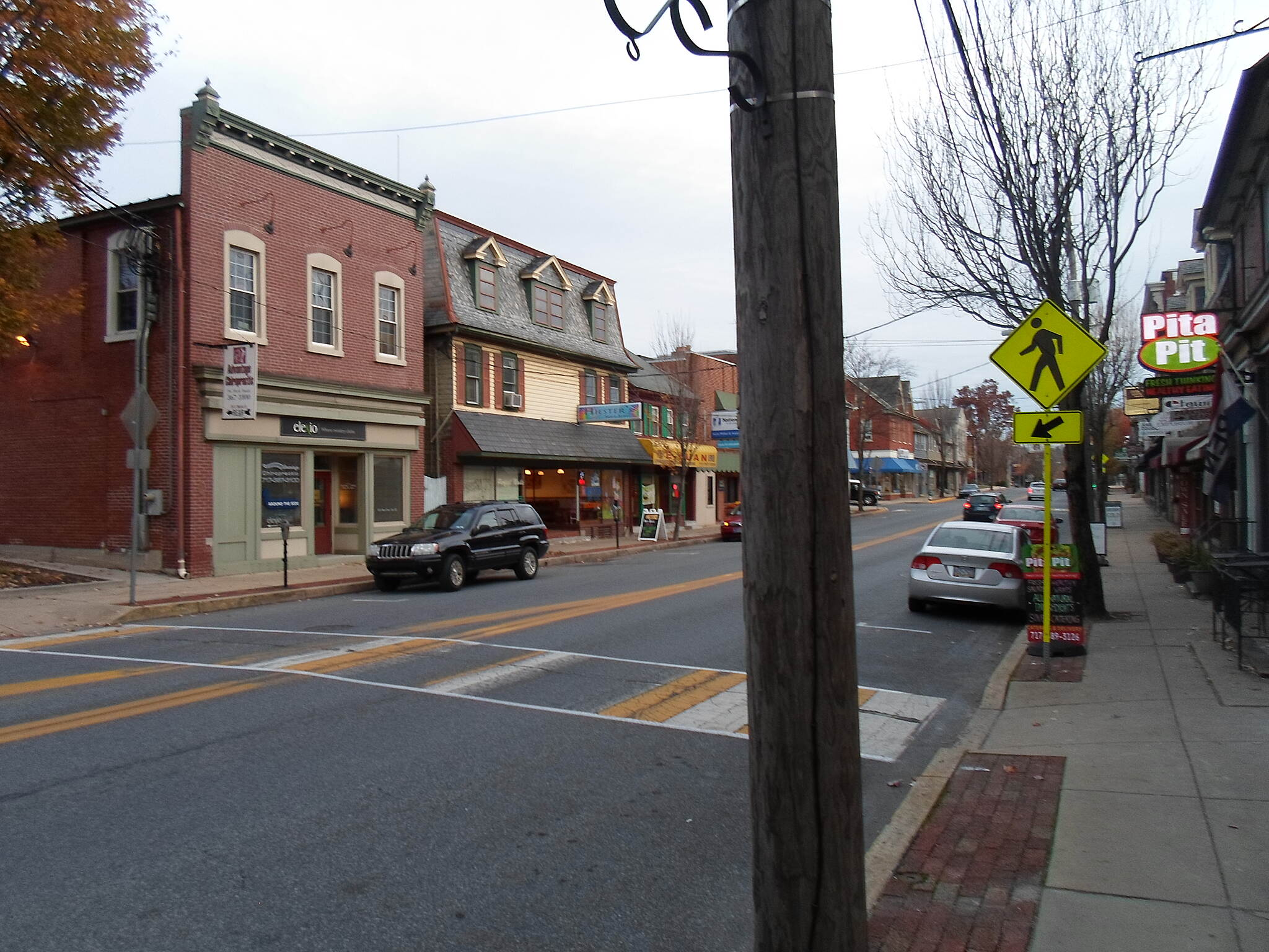 Elizabethtown Connector Trail Elizabethtown Connector Trail Crossing Market Street in the borough's vibrant downtown. Taken Oct. 2015.