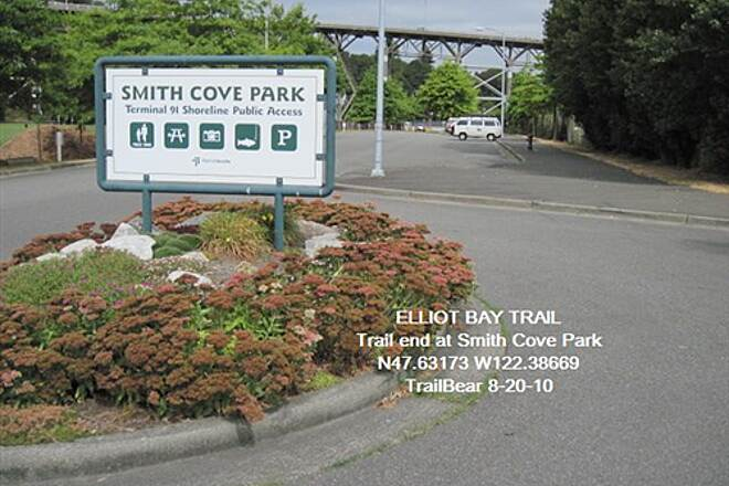 Elliott Bay Trail (Terminal 91 Bike Path) ELLIOTT BAY TRAIL Start of the trail at Smith Cove
