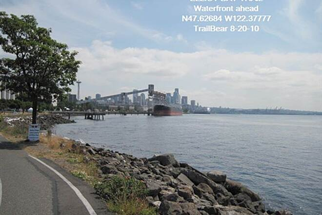Elliott Bay Trail (Terminal 91 Bike Path) ELLIOTT BAY TRAIL Here is Elliott Bay and there is the trail