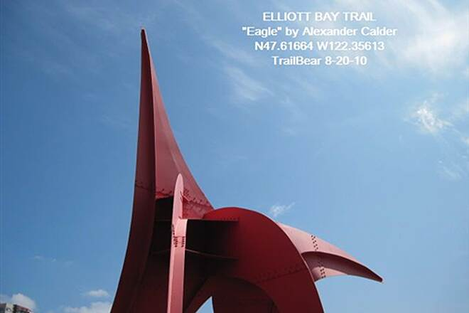 Elliott Bay Trail (Terminal 91 Bike Path) ELLIOTT BAY TRAIL Calder's 'Eagle' at Olympic Sculpture Park