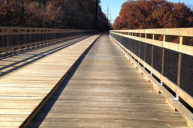 Enola Low Grade Trail Bridge done! Beautiful new Marticville Bridge!