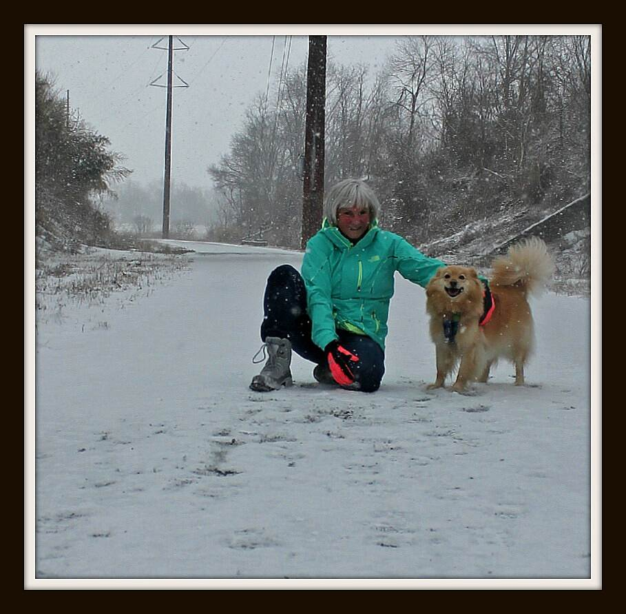 Enola Low Grade Trail 2015  Opening Day Last year we had rain -- this year we had an improvement ----SNOW! Providence Township