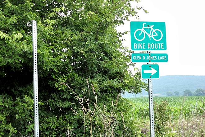 Equality to Glen O. Jones Lake Bike Trail So you don't get lost...