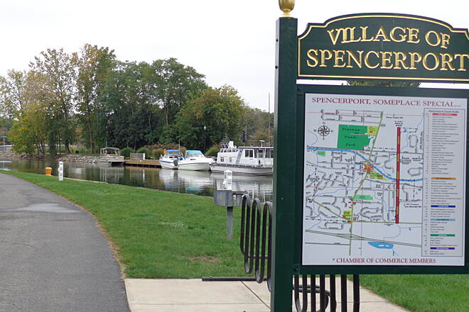 Erie Canalway Trail Spencerport