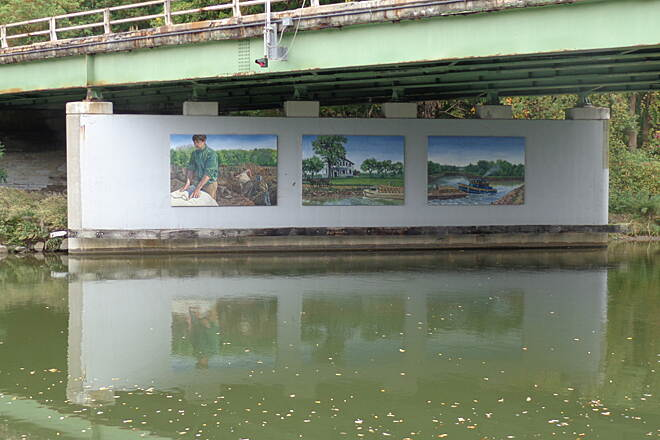 Erie Canalway Trail Murals
