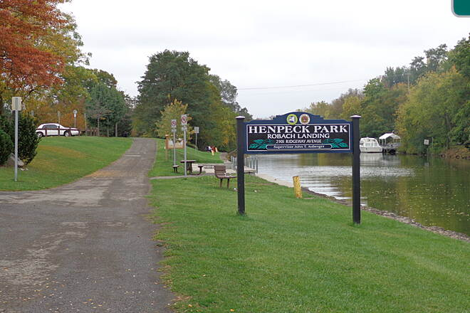Erie Canalway Trail Henpeck Park
