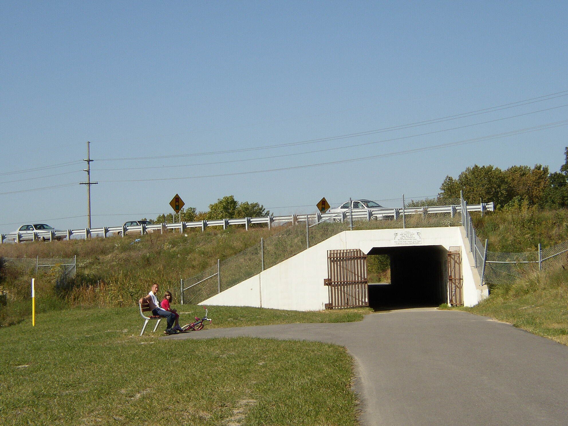 Erie Lackawanna Trail At US 30 in Merrillville