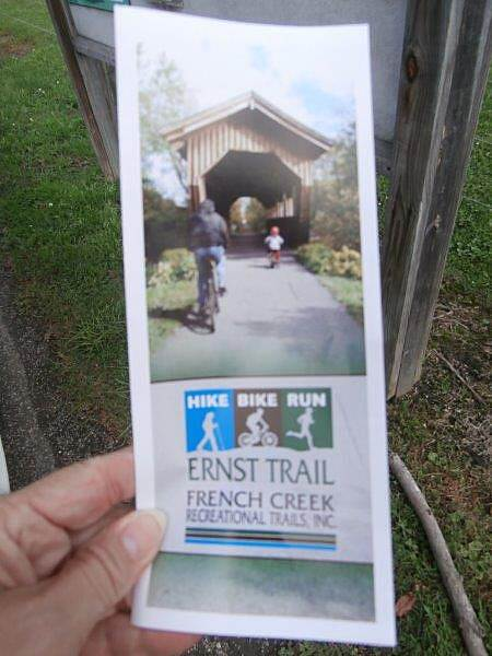 Ernst Bike Trail Phamplet & Map Phamplet and Trail Map
