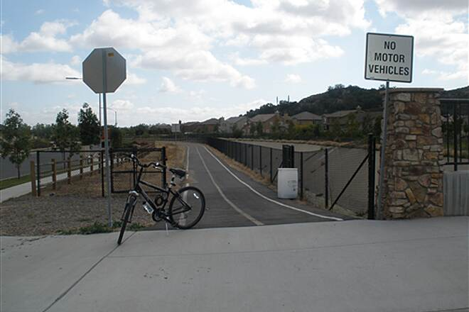 Escondido Creek Bike Path Eastern most point of trail Trail begins on Beven Dr in East Escondido