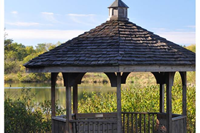 Fairfield Loop Trail By The Reservoirs 'Gazebo'