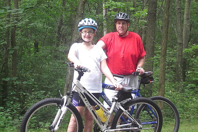 Falling Waters Trail You and me - FWT 081113   What a wonderful trail - beautiful day - great riding partner!!!!