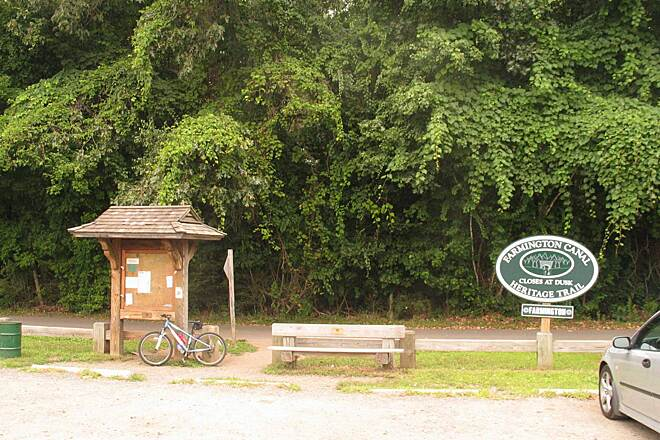 Farmington Canal Heritage Trail Trailhead at Brickyard Road in Farmington Adequate parking and only 1 mile from the fabulous Farmington River bridge