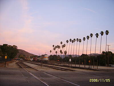 Fillmore Bike Path Sunset A beautiful shot of the East end of the Trail at Sunset.