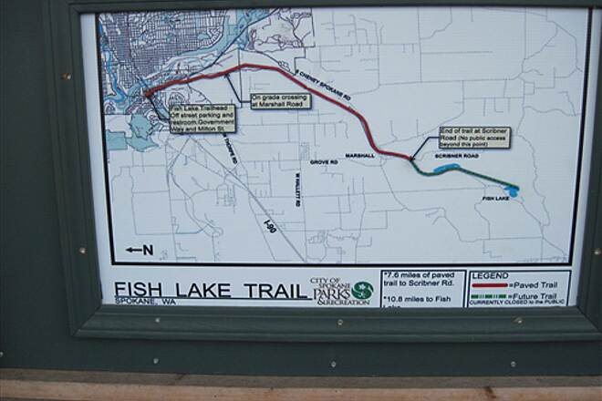 Fish Lake Trail FISH LAKE TRAIL Trail map at the trailhead