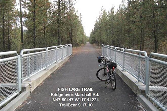 Fish Lake Trail FISH LAKE TRAIL Marshall Rd. overpass