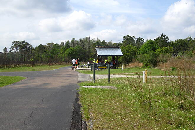 Flatwoods Park Trail Water Stop