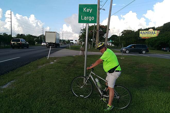 Florida Keys Overseas Heritage Trail Start Northern end of trail in Key Largo