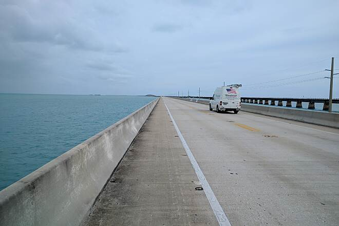 Florida Keys Overseas Heritage Trail 7-Mile Bridge Crossing the 7-Mile Bridge