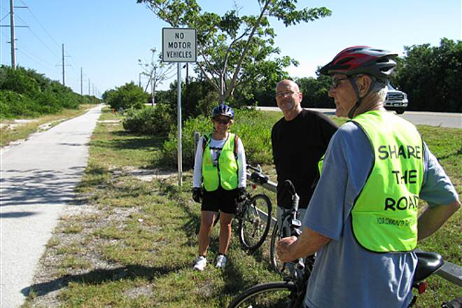Florida Keys Overseas Heritage Trail Grassy Key Trail KL2KW trip 2007