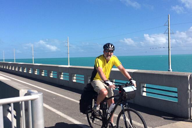 Florida Keys Overseas Heritage Trail long key channel dedicated bike bridge amazing ride,great views