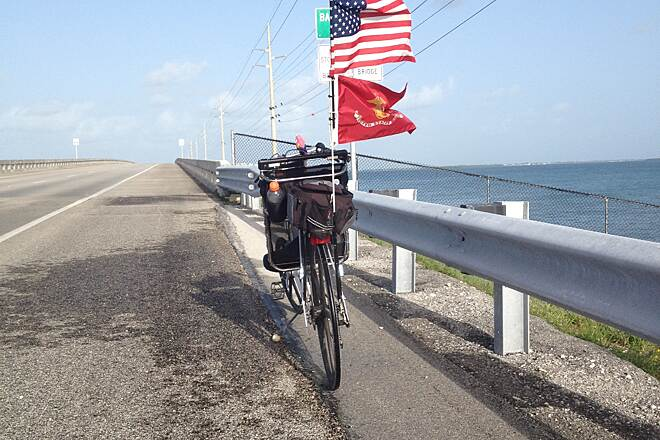 Florida Keys Overseas Heritage Trail MS Fund Raiser for Jodie Key West Trail , June 2013
