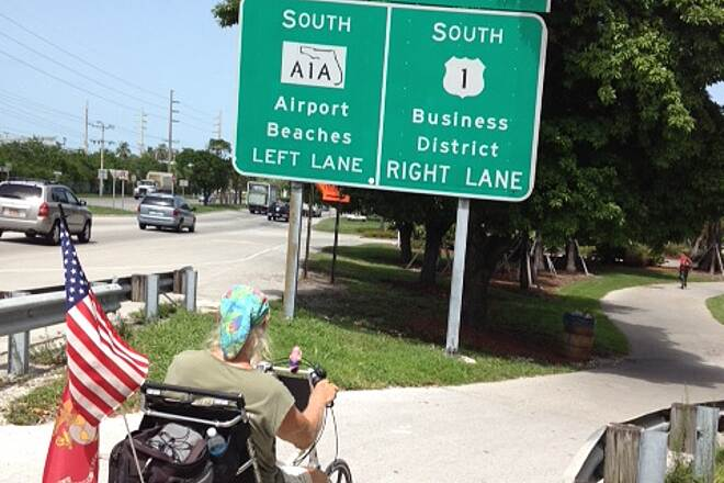 Florida Keys Overseas Heritage Trail Amost There ,MS Fund Raiser MS ride for Jodie