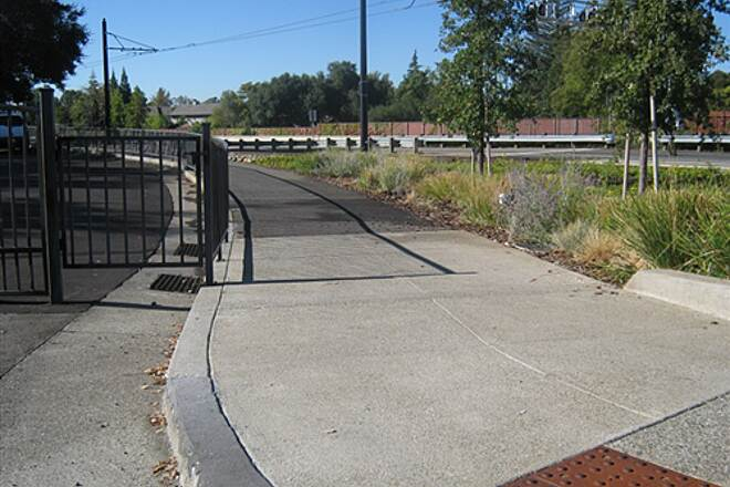 Folsom Parkway Rail Trail Sutter St. Trail beginning at Sutter and Reading Streets