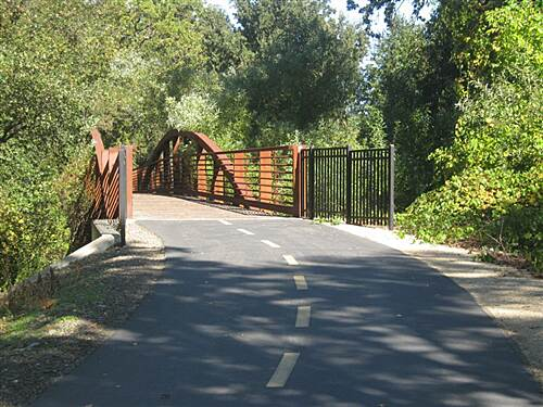 Folsom Parkway Rail Trail  Willow Creek Bridge