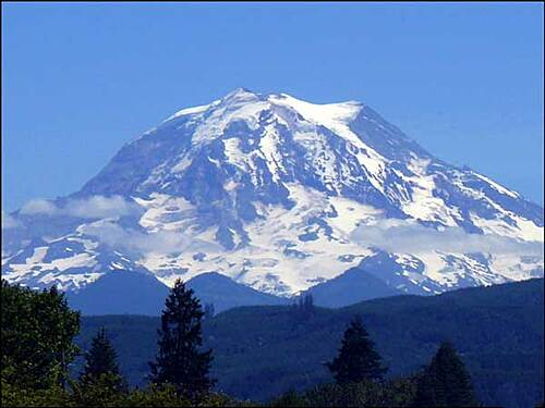 Foothills Trail Mt. Rainier from Orting