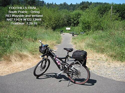 Foothills Trail FOOTHILLS TRAIL - S. Prairie - Orting
