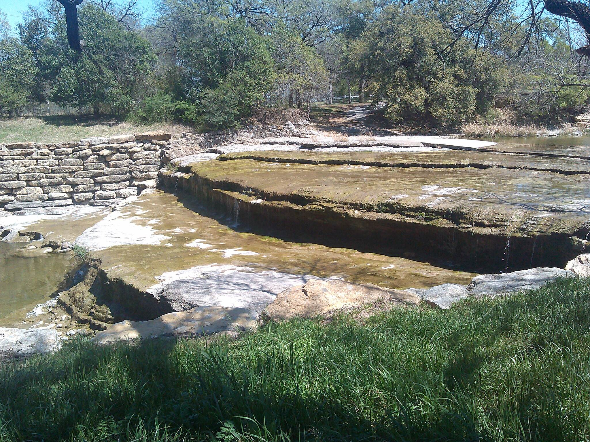 Fort Worth Branch (Trinity River Trails) Waterfall